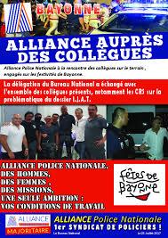 Alliance Police Nationale Bureau De Change Bayonne