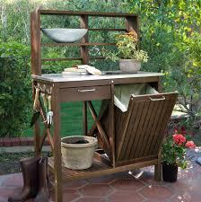 amusing potting bench design with sink ideas exterior segomego
