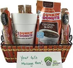 gourmet coffee gift baskets dunkin donuts original coffee gift basket grocery