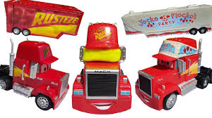 disney cars 3 toys mack truck dreams of getting fired by lightning