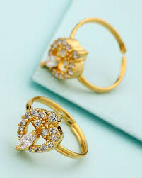 rings online gold images Gold plated adjustable toe rings available toe rings rings jpg