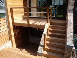 garde corps bois escalier interieur escaliers et garde corps les sens du bois