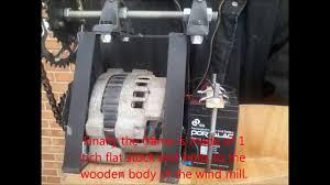 homemade wind generator youtube