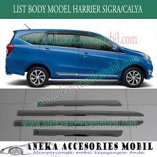 Daihatsu Sigra Trunk Lid Cover Chrome side moulding toyota calya side molding toyota calya list