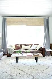 curtain ideas for large windows in living room window treatment ideas for living room omiyage