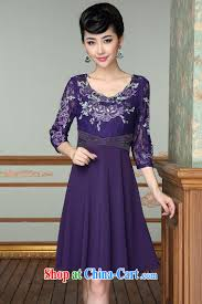 elderly women dresses women in europe and the middle aged and elderly with