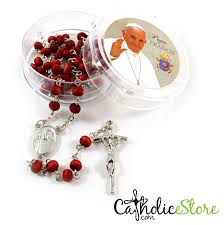 free rosaries pope francis rosary petal scented wood rosary catholic