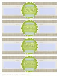 diy homemade clean free label printables and recipes worldlabel blog