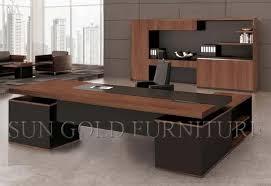 bureau en bois moderne bureau bois massif moderne mzaol bureau en bois moderne