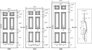 Standard Door Width Interior Commercial Interior Door Sizes Standard Stand 30328 Evantbyrne Info