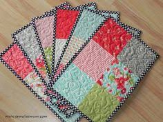 Mug Rug Designs Mug Rugs Gardens Patchwork And Potholders