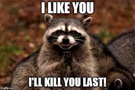 Raccoon Meme - evil plotting raccoon meme imgflip