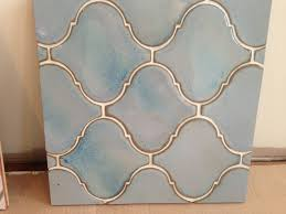 bed u0026 bath stunning blue arabesque tile for tile backsplash ideas