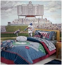 Sports Themed Duvet Covers Baseball Bedroom Boys Baseball Theme Decorating Ideas Baseball