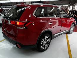 red mitsubishi outlander locally assembled mitsubishi outlander makes debut u2013 drive safe