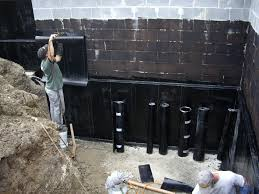 Interior Basement Wall Waterproofing Membrane Retaining Wall Waterproofing Membrane Garden Design