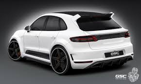 porsche macan 2016 white porsche macan by german special customs