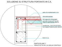 travetto tralicciato solaio compound struttura in cemento o legno lamellare il