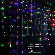 Led Light Curtain 432 Led Icicle Led Light Curtain String L