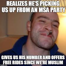 Arab Guy Meme - good guy arab uber driver story in comments imgflip
