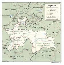 Turkestan Map The Tajikistan Update Maps Of Tajikistan