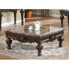 Marble Coffee Table Marble Granite Top Coffee Tables You Ll Wayfair