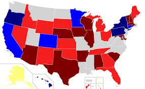 Election Predictions November 5 2016 by United States Gubernatorial Elections 2018 Wikipedia