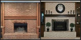 How To Update Brick Fireplace by This Brick Fireplace Resurfacing Endeavor I Decided To Take On Was
