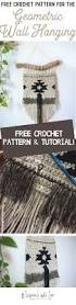crochet home decor free patterns free crochet pattern for the geometric wall hanging megmade with