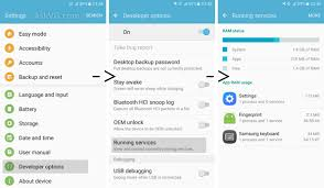 list of android versions tip how to check running apps list in android 6 0 marshmallow and