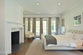 traverse curtain rods bedroom traditional with off white oak floor