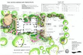 modern style residential landscape architecture plan with dan