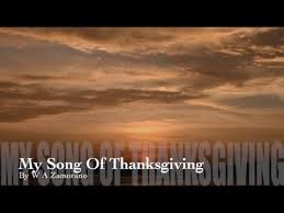 my song of thanksgiving new gospel song