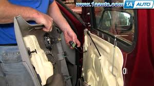 How To Replace Exterior Door by How To Install Replace Front Door Panel Chevy Hhr 06 10 1aauto Com