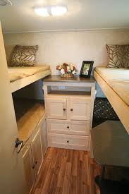 RV Bunk Beds Perfect With Three Beds Storage And Play Space - Rv bunk bed mattress