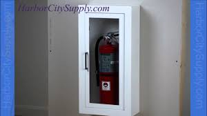 Surface Mounted Fire Extinguisher Cabinet Jl Industries Academy