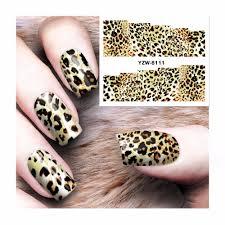 leopard nail designs promotion shop for promotional leopard nail