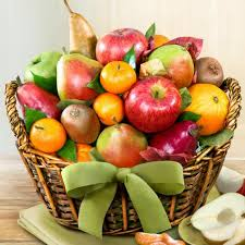 fruit baskets harvest gold fruit basket aa4000 a gift inside