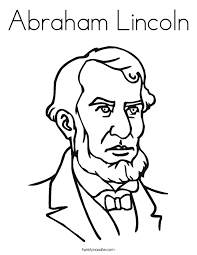 lincoln coloring pages abraham lincoln coloring page twisty noodle