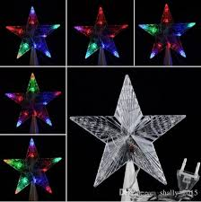 new 10 leds large tree topper lights led l multi