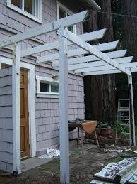 attached covered pergola tags marvelous front pergola awesome