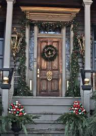 Christmas Decorations For A Front Porch Columns by 50 Stunning Christmas Porch Ideas U2014 Style Estate