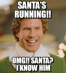 Omg Run Meme - run santa s running on memegen