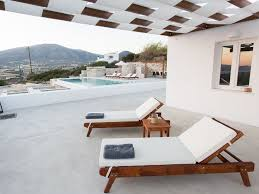 H2o Furniture by H2o Private Villa Paros Infinity Swimming Homeaway Paros