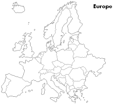 blank map of europe blank map of europe printable thefreebiedepot