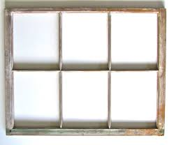 Woods Vintage Home Interiors Vintage Wood Six Pane Window Frame Ready For Mirror Or Hanging