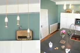 peinture verte cuisine peinture cuisine meilleur idées de conception de maison