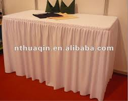 Polyester Chair Covers White Wedding Polyester Table Cloth And Banquet Chair Covers Shop