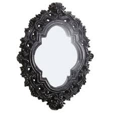 Black Oval Bathroom Mirror Buy Black Mirrors From Bed Bath U0026 Beyond