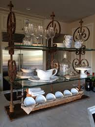 kitchen island storage custom design patisserie shelf oooooh